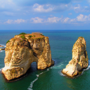 Raouche Lebanon tour by Lebanon Expedition