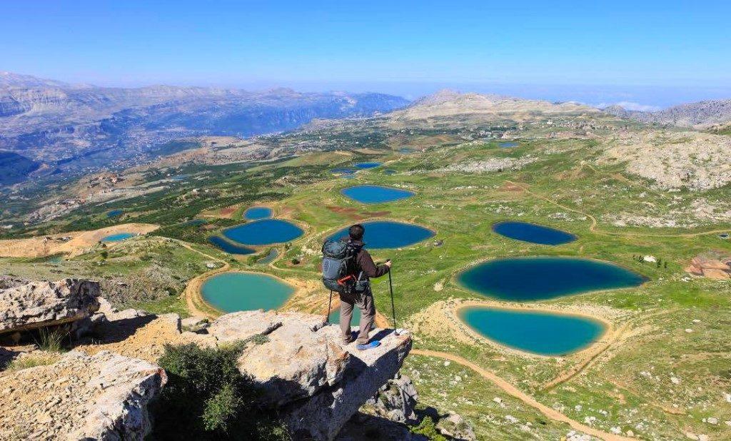 Akoura lakes Lebanon tour package