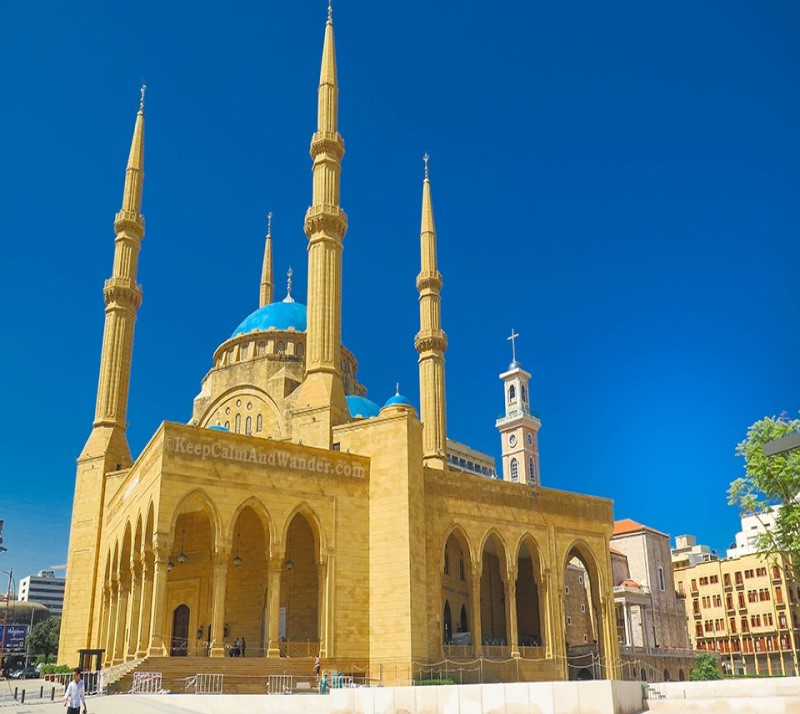 Al Amin Mosque Beirut Lebanon tour package