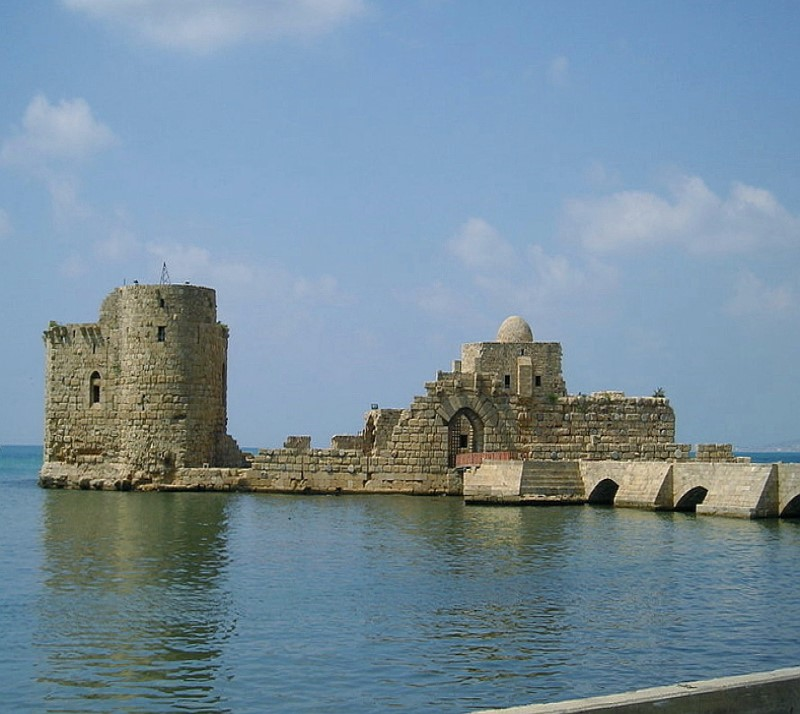 Salah El Din sea castle Mosque Tyr Lebanon tour package