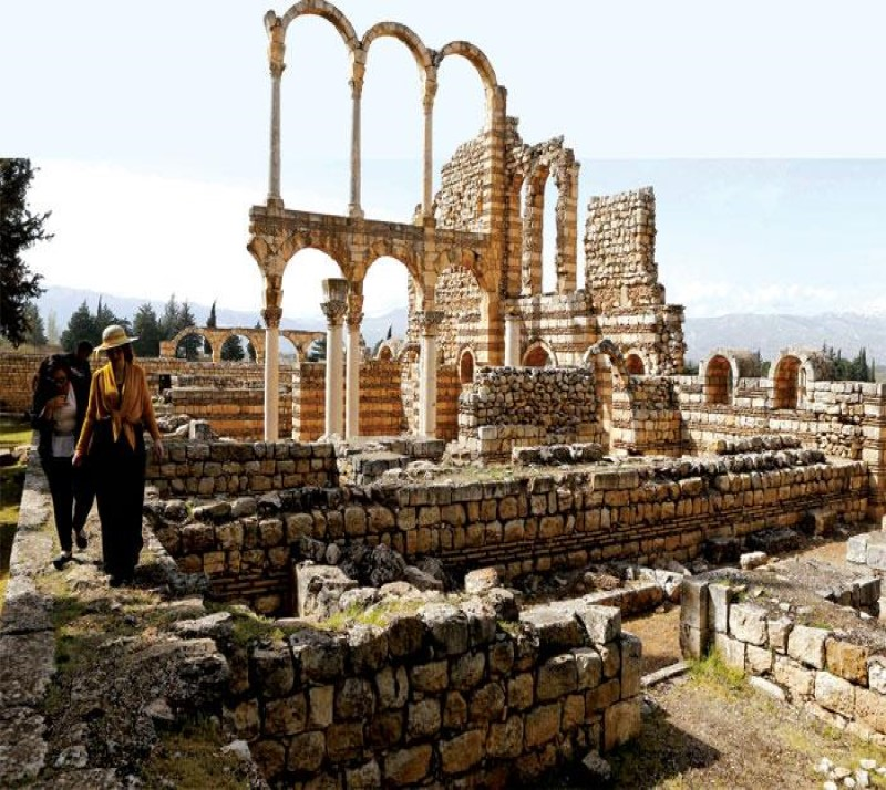Umayyad Mosque Anjar Lebanon tour package