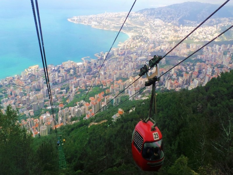 Telefrique Jounieh Lebanon Expedition tour