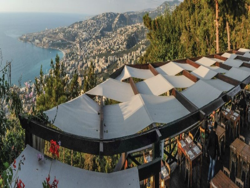 Telefrique restaurant Jounieh Lebanon Expedition tour
